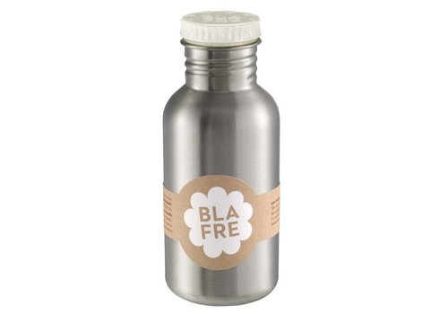 Blafre Steel bottle 500ml white
