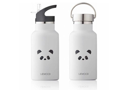 Liewood Steel bottle Anker Panda light grey