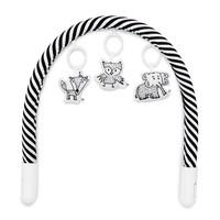 Babynestje Toy Bar Black/White Stripe