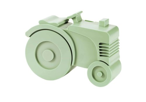 Blafre Lunch box tractor light green