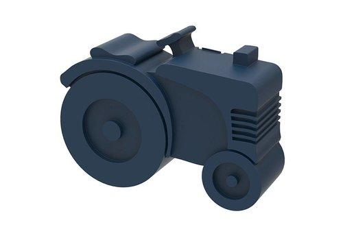 Blafre Brooddoos tractor dark blue