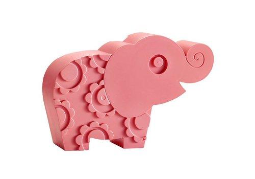 Blafre Brooddoos olifant pink