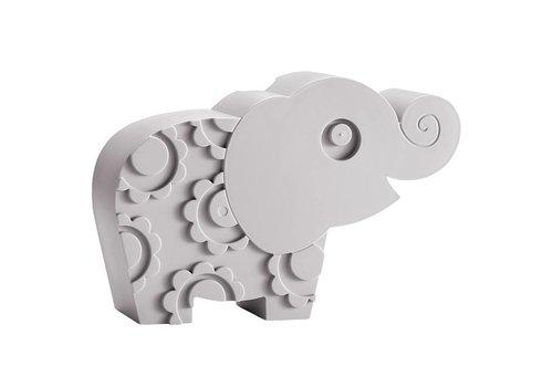 Blafre Brooddoos olifant grey