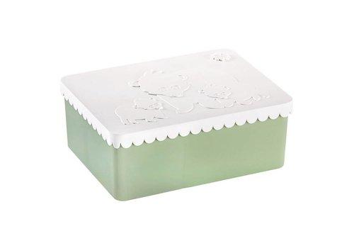 Blafre Brooddoos groot polar white/coast green