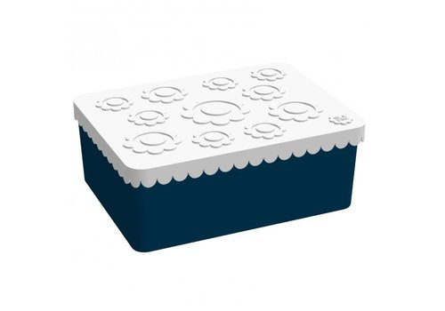 Blafre Lunch box dark blue