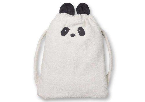 Liewood 2-in-1 Handdoek en rugzak Panda