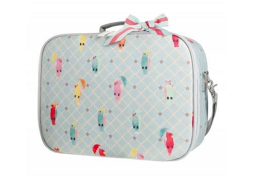 Jeune Premier Suitcase Mini Posh Parrots