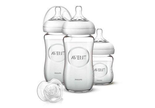 Avent Natural Newborn Starter set Glass