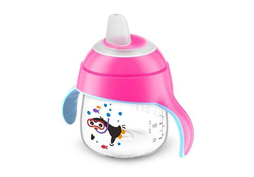 Avent Spout cup 200ml Pink