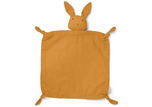 Liewood Knuffeldoekje Agnete Rabbit Mustard