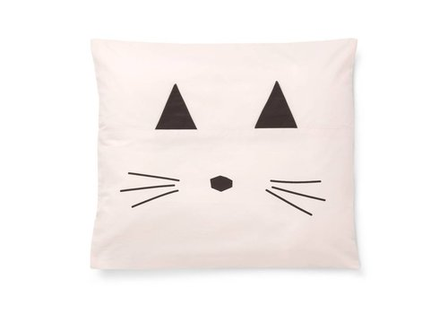 Liewood Pillow case Carla Cat Sweet Rose