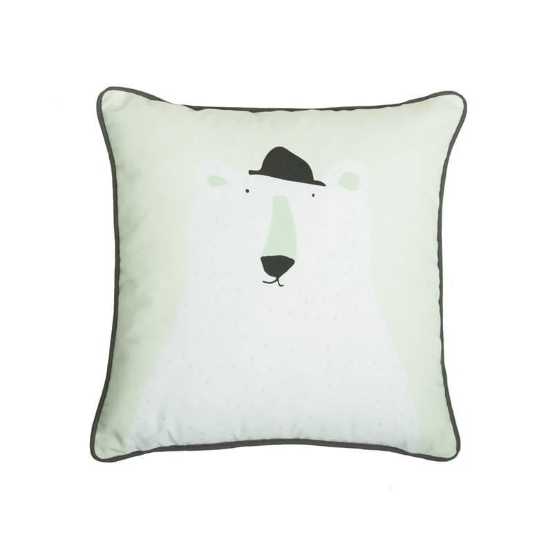 004186a6a91 Trixie Baby • Kussen Mr. Polar Bear - Atelier BéBé