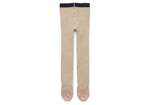 Liewood Silje lurex stockings Little dot gold