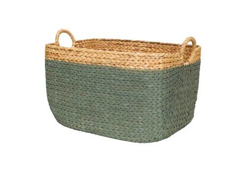 KidsDepot Porter basket hyacint seagreen