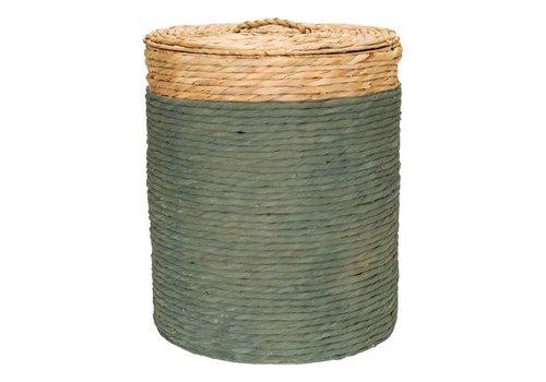 KidsDepot King basket hyacint Seagreen
