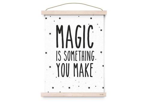 Eef Lillemor Poster Magic Is Something You Make