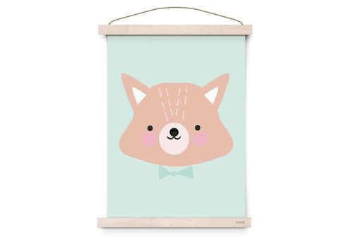 Eef Lillemor Poster Forest Animals Mr. Fox