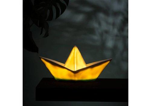 Goodnight Light Nachtlamp Paper Boat Cyan dip