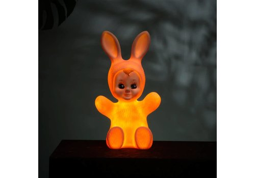 Goodnight Light Nachtlamp Bunny Baby Pastel pink
