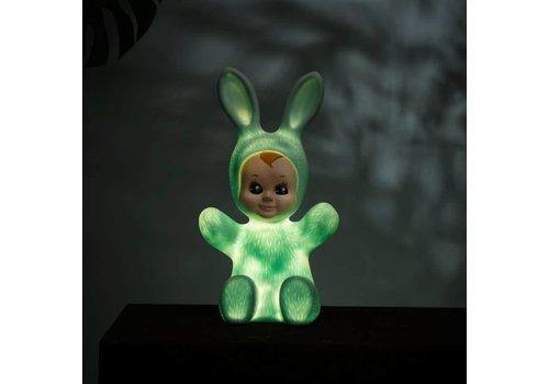 Goodnight Light Nachtlamp Bunny Baby Mint