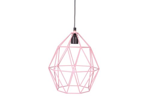 KidsDepot Hanglamp Wire Pink