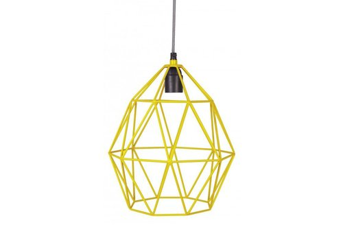 KidsDepot Hanglamp Wire Yellow