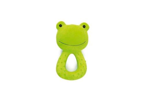 Tikiri Teether natural rubber Frog