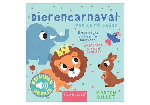 Clavis Geluidenboekje: Dierencarnaval. 1+