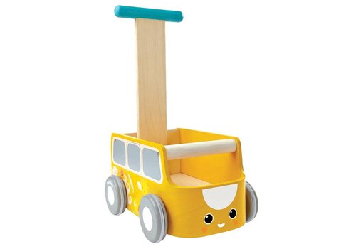 PlanToys Baby walker Yellow