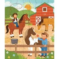 Kokerpuzzel - Op de ranch