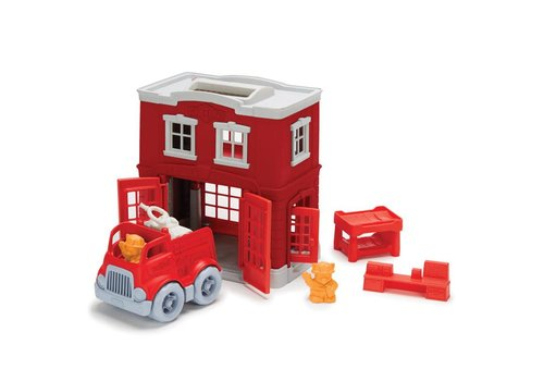 Green Toys Brandweerstation