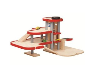 Plan Toys Garage : Plantoys u parking garage atelier bébé