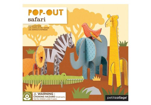 Petit Collage Pop-out - Safari