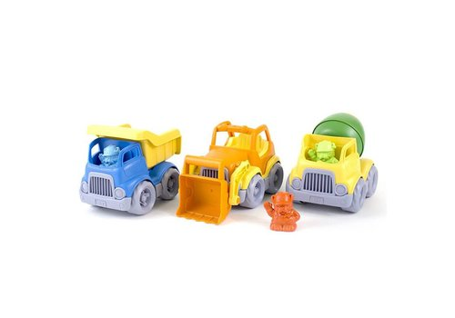 Green Toys Bouwwagens