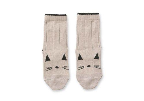 Liewood Silas socks Cat Sweet rose