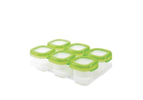 OXOtot Zesdelige set diepvriesdoosjes (60ml) Green