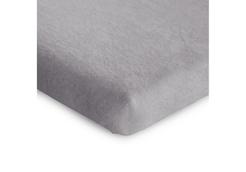 Childhome Playpen mattress cover 75x95cm tricot pastel Mouse grey