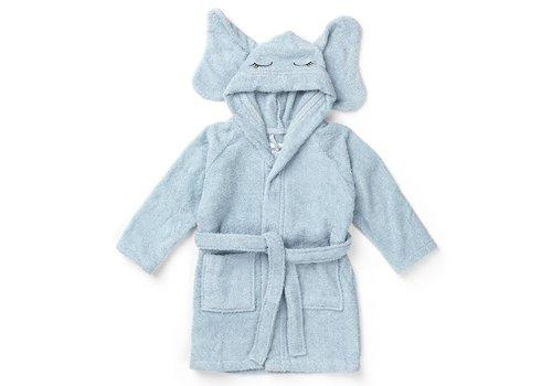 Liewood Bathrobe Lily Elephant Baby Blue
