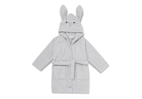 Liewood Badjas Lily Rabbit dumbo grey
