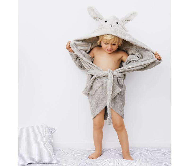 Bathrobe Lily Rabbit dumbo grey