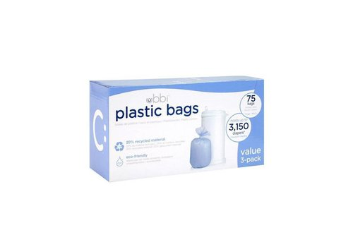 Ubbi Eco-friendly plastic bags 75 pcs