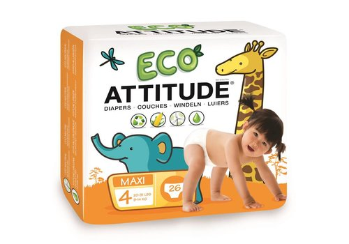 Attitude Little Ones Ecoluiers maat 4