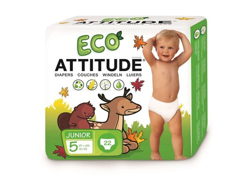 Attitude Little Ones Eco diapers size 5