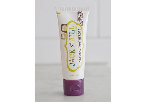 Jack n' Jill Natuurlijke tandpasta Organic Blackcurrant