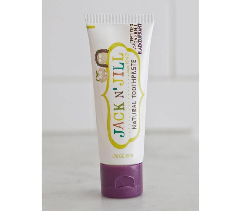 Natuurlijke tandpasta Organic Blackcurrant