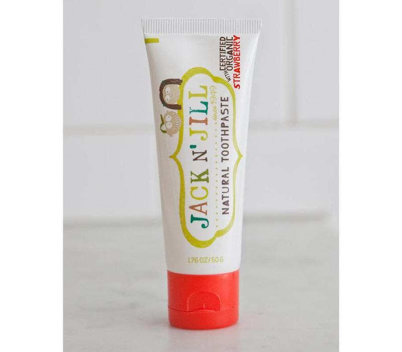 Natuurlijke tandpasta Organic Strawberry