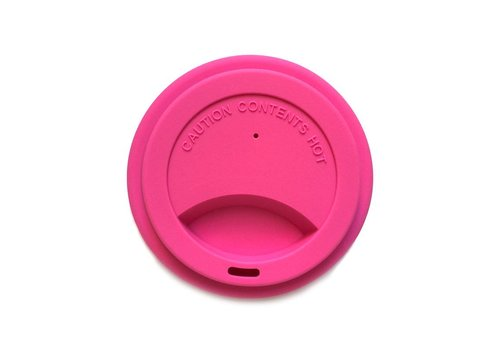 Jack n' Jill Siliconen deksel voor spoelbeker Pink