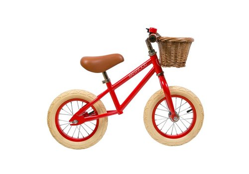 Banwood Loopfiets FIRST GO! Red