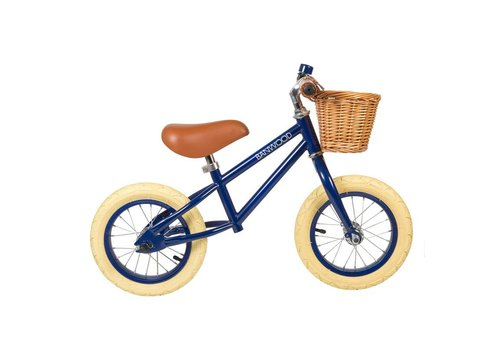 Banwood Loopfiets FIRST GO! Navy