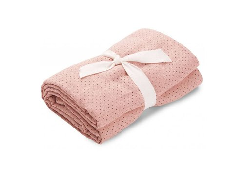 Liewood Molly Swaddle Little dot 120x120 Rose